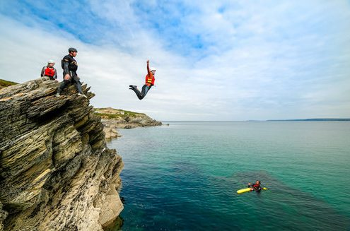 Coasteering in Newquay