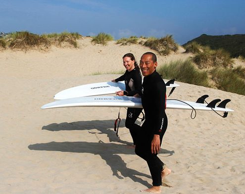 Couples Surf Lessons