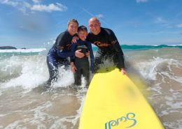 family-surfing-cornwall