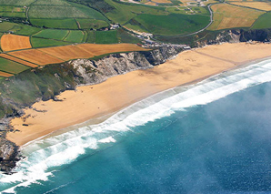 A History of Surfing at Watergate Bay