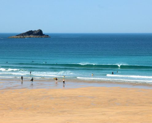 fistral-beach-tourquise-waves