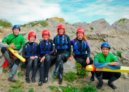family-coasteering-guides