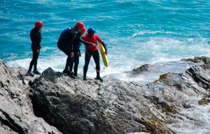 Private Coasteering in Cornwall