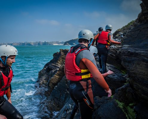 coasteering-group-warters-edge