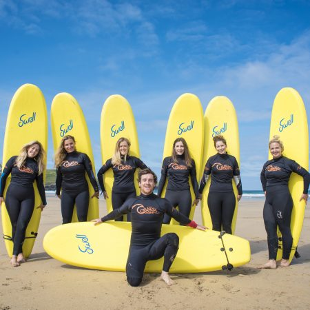 hen-party-enjoying-surf-lesson