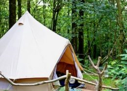 canvas-bell-tent-woodland-camping