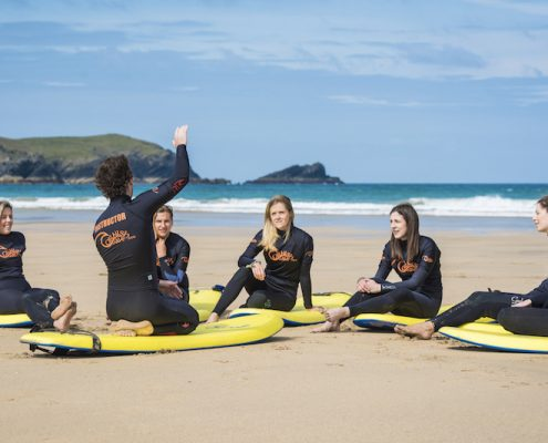 HEN-PARTY-SURFING-NEWQUAY
