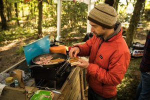 breakfast-in-woodland-campsite
