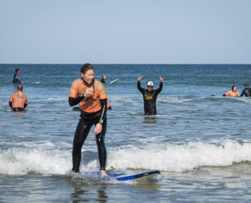 Introduction to Wild Swimming, Surf & Yoga & Wild Camp Weekend